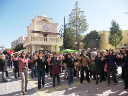 Kadına Şiddeti Dans Ederek Protesto Ettiler