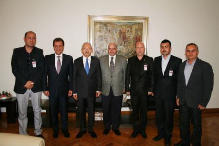 Tarsus Gazeteciler Cemiyeti, Ankara'ya Çıkartma Yaptı