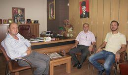 Tarsus İlçe Emniyet Müdürü Salim Çakan, Gazetemizi Ziyaret Etti