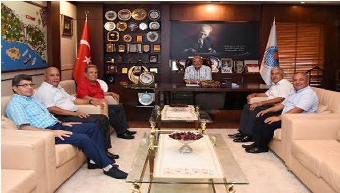 Başkan Kocamaz'a Ziyaret