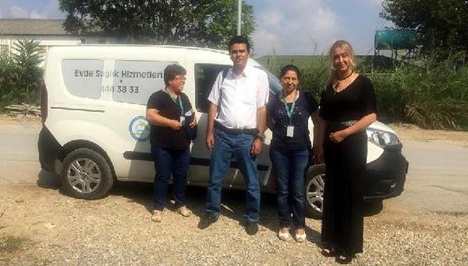 Tarsus'ta Evde Sağlık Hizmeti Başladı
