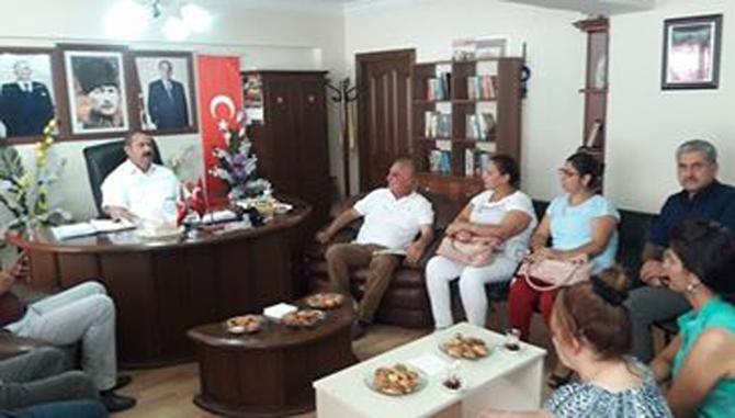 CHP'den, MHP'ye Ziyaret