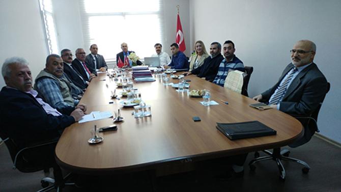 SYDV Toplantısı Yapıldı