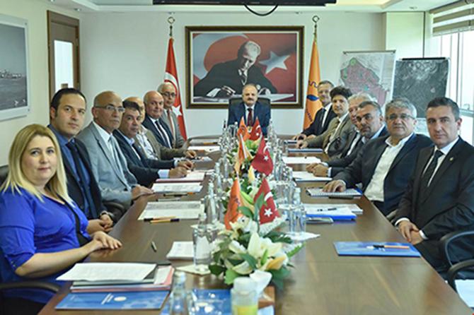 Mersin-Tarsus OSB Müteşebbis Heyeti Toplantısı Yapıldı