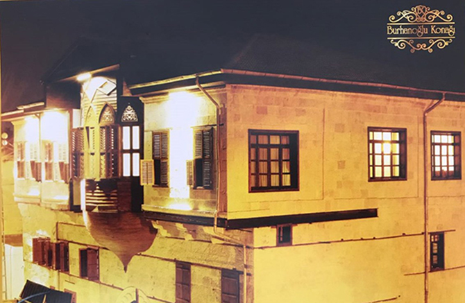 Burhanoğlu Konağı Butik Otel Bugün Açılıyor