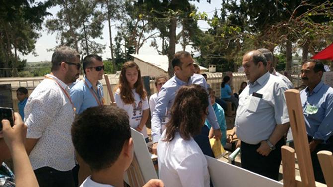 Abdullah Dirlik İlk/Ortaokulunda TÜBİTAK 4006 Bilim Fuarı Açıldı