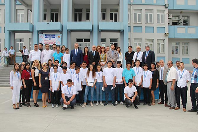 Üreten Gençlik Proje Sergisi Açıldı