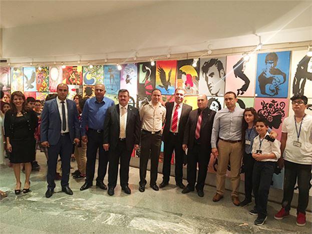 Tarsus Hasan Ali Yücel Orta Okulunun Resim Sergisi Açıldı