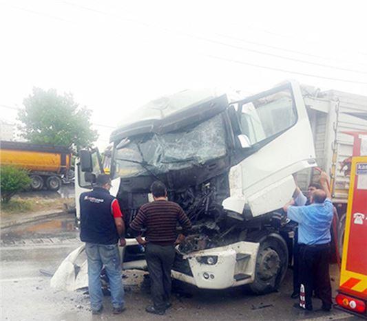 Tarsus'ta Kaza 1 Yaralı