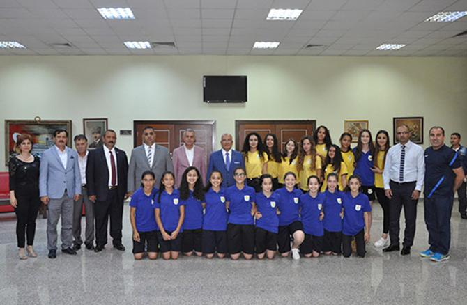 Can, Kocamaz ve Şimşek, Tarsus Belediyesi Personelleriyle Bayramlaştı