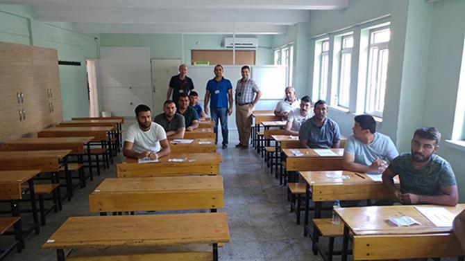 Sınavlar Haftasonu Yapıldı