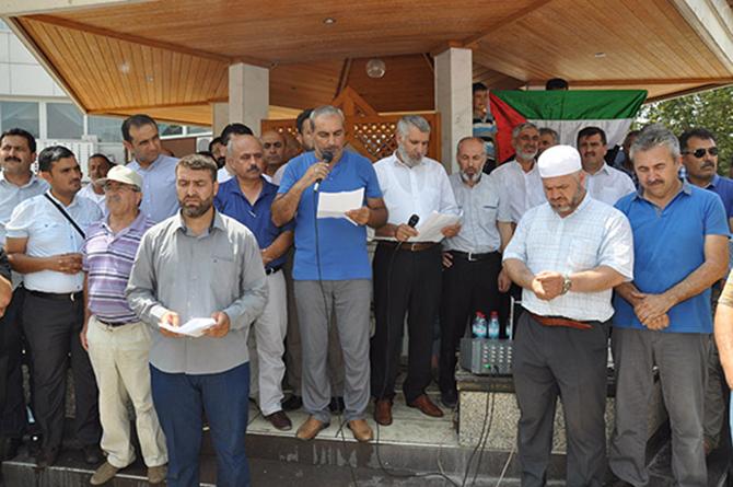 İsrail'in Mescid-i Aksa Uygulamaları Protesto Edildi