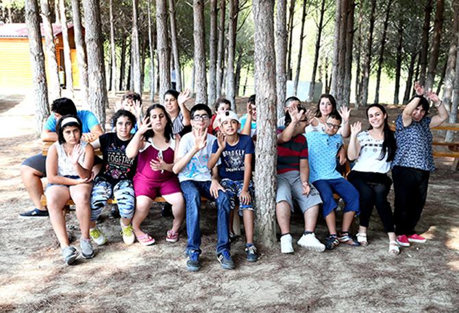 Tarsus Kampı, Engelli Öğrencileri Ağırladı