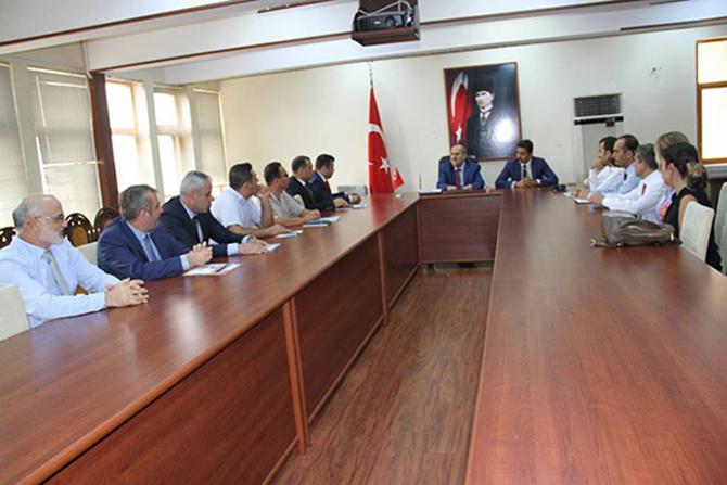 Uyuşturucu ile Mücadele Komisyon Üyeleri Toplantı Yaptı