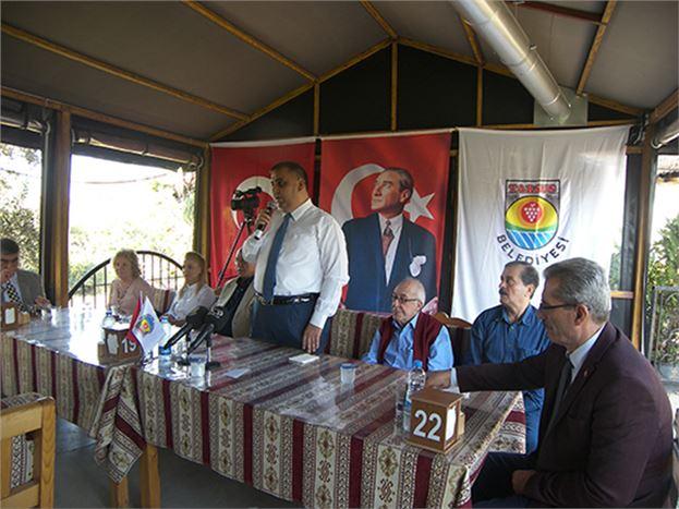 Belediye Başkanı Şevket Can, Gazeteciler ile Toplantı Yaptı