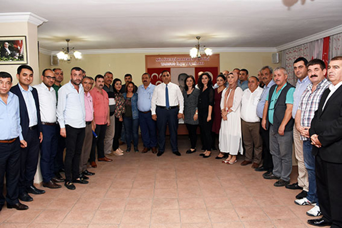 MHP İlçe Teşkilatına, Başkan Can'dan 'Hayırlı Olsun' Ziyareti