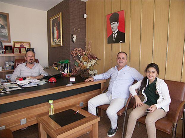 AK Parti Tarsus Belediye Meclis Üyesi Yüksel Atum, Gazetemizi Ziyaret Etti
