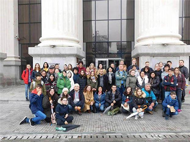 Öğrenciler, Makedonya'dan Döndü