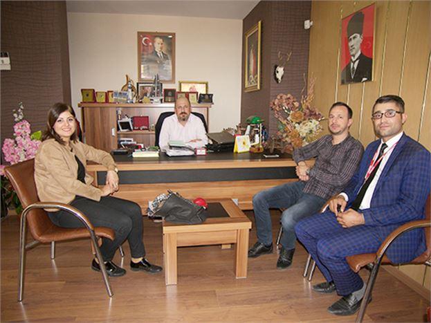 Medical Park Tarsus Hastanesi Kurumsal Pazarlama Müdür Yardımcısı Nermin Ateş Kırdök, Gazetemizi Ziyaret Etti