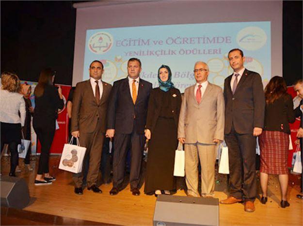 Tarsus MEM Özel Büro Proje Biriminin Hazırladığı Çalışma Ödül Aldı