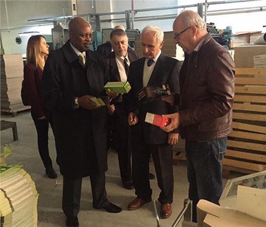 Ruanda Büyükelçisi, Başkan Şevket Can'ı Ziyaret Etti