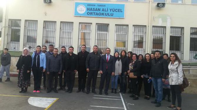Kalaycı, Hasan Ali Yücel İlköğretim Okulunu Ziyaret Etti