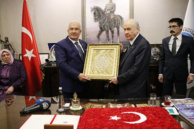 MHP Lideri Bahçeli Mersin'i Ziyaret Etti