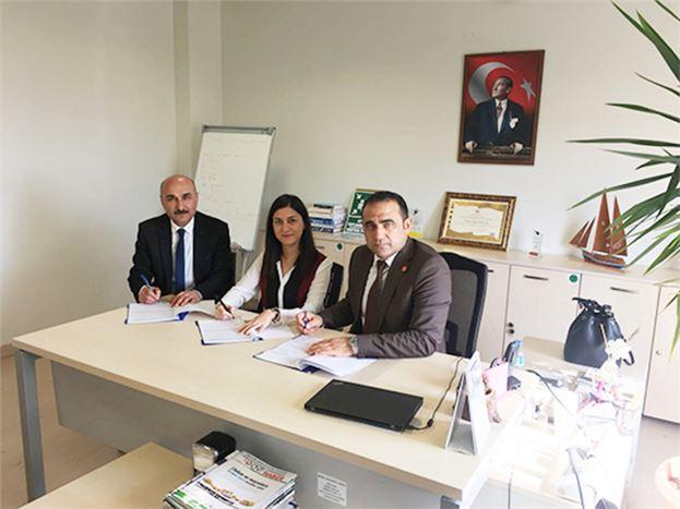 İlçe Milli Eğitim Müdürlüğü ve Koluman İşbirliği Protokolü İmzaladı
