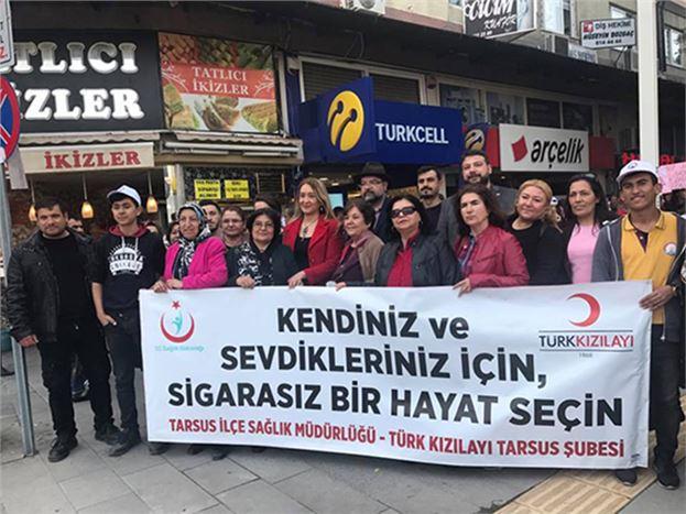 'Sigarasız Bir Hayat' Yürüyüşü Düzenlendi