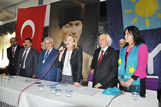İYİ Parti Tarsus İlçe Olağan Kongresi Yapıldı