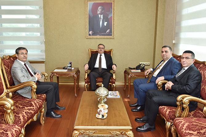 Başkan Can, Vali Su'yu Makamında Ziyaret Etti