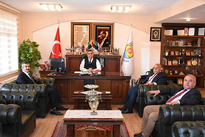 Oda Başkanlarından, Başkan Can'a Ziyaret
