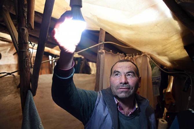 Yörükler Büyükşehir'den Elektrik Alıyor