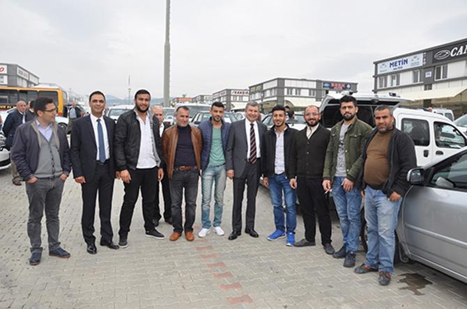 """Talay, """"Mersin'i Dünya Kenti Yapacak Projeleri Hayata Geçireceğiz"""""""