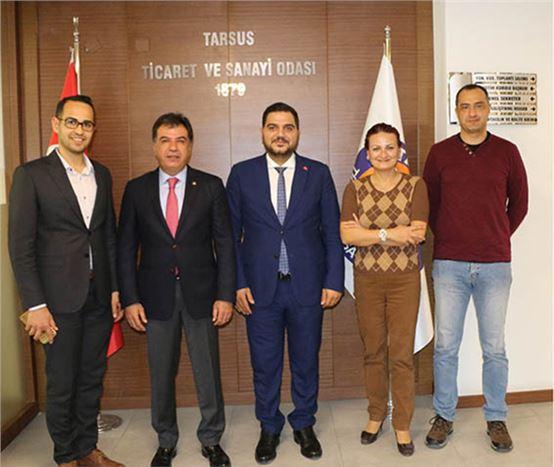 MORSKUD Yöneticileri,  TSO Başkanı Koçak'ı Ziyaret Etti