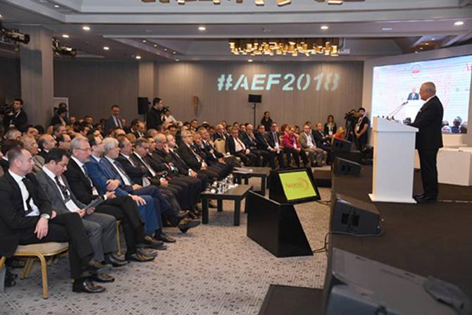 """""""Akdeniz Ekonomi Forumu"""" Toplantısı Başladı"""