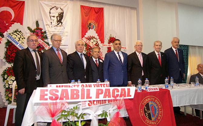 TÜED, Tarsus Şube Başkanlığına Yeniden Ömer Kurnaz Seçildi