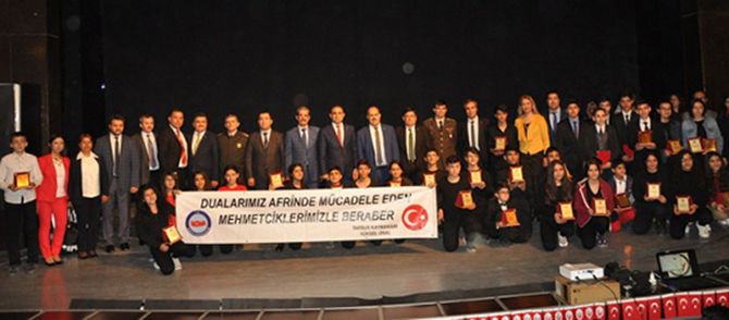 İstiklal Marşının Kabulü ve Şair Mehmet Akif Ersoy Anıldı