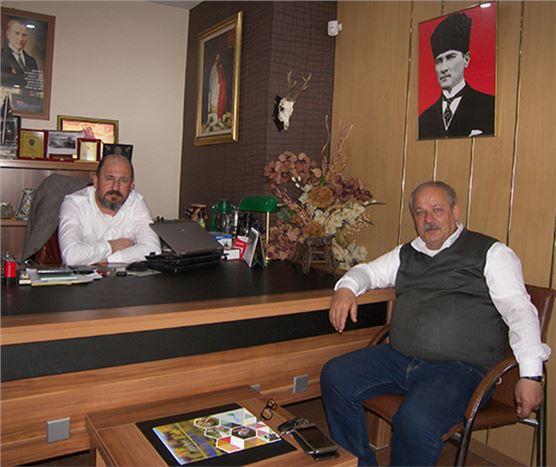Başkan Ali Tavman, Gazetemizi Ziyaret Etti