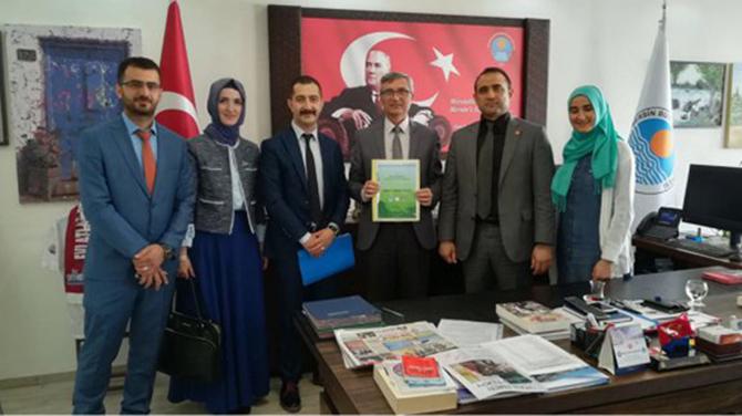 Kalaycı ve Ekibi, Mersin Büyükşehir Belediyesini Ziyaret Etti