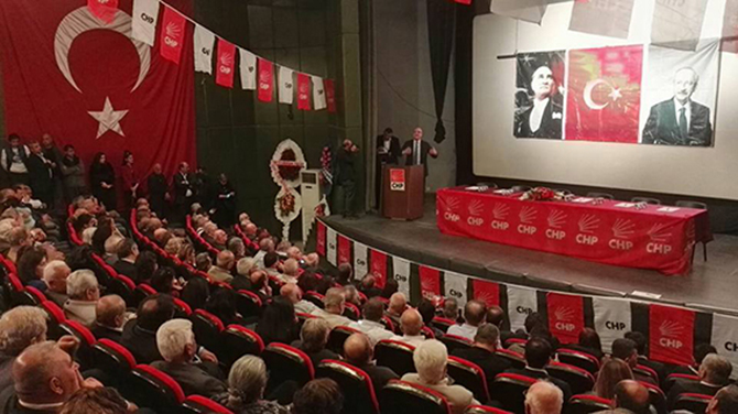 CHP Tarsus İlçe Örgütü  Danışma Toplantısı Yapıldı