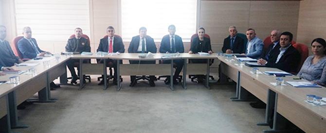 Tarsus Cumhuriyet Başsavcılığı Koruma Kurulu Toplandı