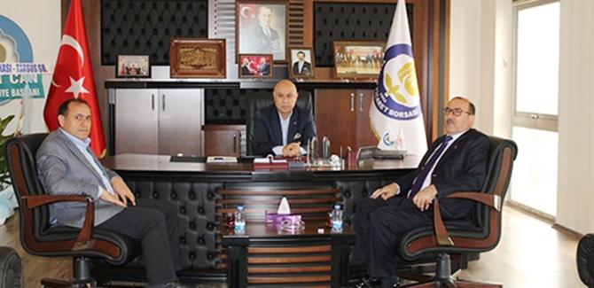 Şen, Başkan Murat Kaya'yı Ziyaret Etti