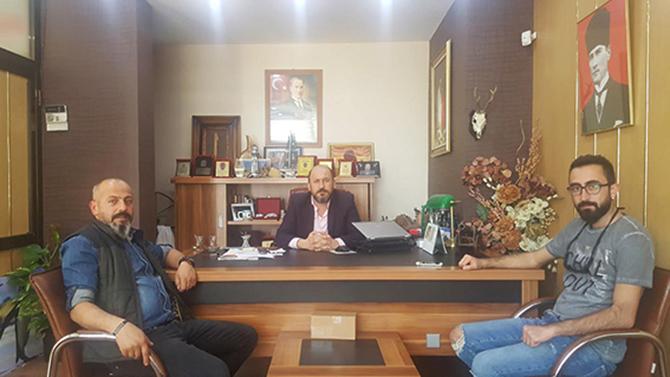 Özgür ve Şen'den Gazetemize Ziyaret