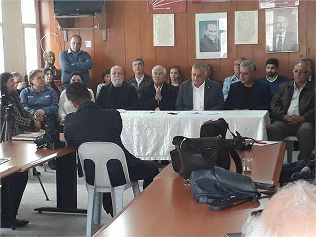 CHP Tarsus İlçe Başkanı Ali İlk'inGündeme Dair Basın Açıklaması