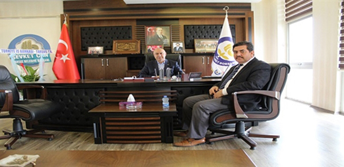 Erdoğan, Başkan Murat Kaya'yı Ziyaret Etti