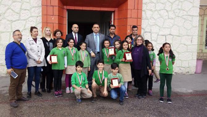 Öğrenciler, Çeşitli Dallarda Yarışma Düzenledi