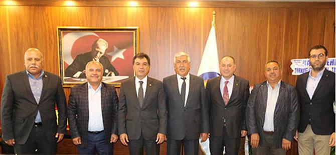 Başkanlar, TSO Başkanı Koçak'a, 'Hayırlı Olsun' Ziyaret