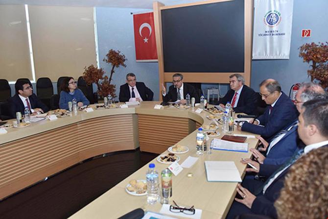 """Vali Su, """"Tarsus'a Kurulacak Olan OSB'lerin Çalışmaları Hızla Sürüyor"""""""