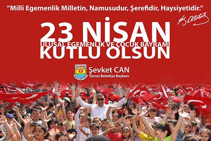 Başkan Can, 23 Nisan Çocuk Bayramını Kutladı